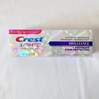 クレスト(Crest)のcrest 3D ホワイト ブリリアンス ホワイトニング 歯磨き粉 クレスト(歯磨き粉)
