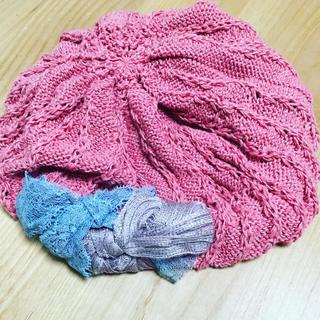 カシラ(CA4LA)のベレー帽(カシラ)(ハンチング/ベレー帽)