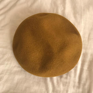 カシラ(CA4LA)のCA4LA マスタード ベレー帽(ハンチング/ベレー帽)