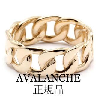 アヴァランチ(AVALANCHE)のAVALANCHE マイアミキューバンリング 10k(リング(指輪))