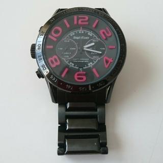 エンジェルクローバー(Angel Clover)のエンジェルクローバー ブラック&ピンク(文字盤)(腕時計(アナログ))