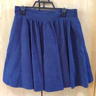 シーディーエスベーシック(C.D.S BASIC)のCDS♡スウェードスカート(ミニスカート)