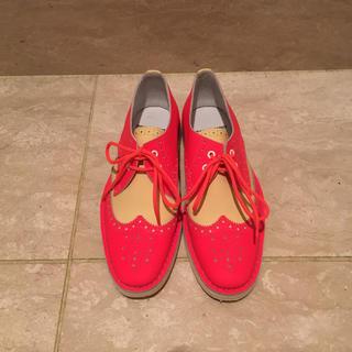 ピエールアルディ(PIERRE HARDY)のほぼ新品 Pierre Hardy ピエールアルディ レースアップ シューズ(ローファー/革靴)