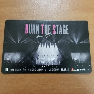 BTS 「BURN THE STAGE」ムビチケカード(その他)