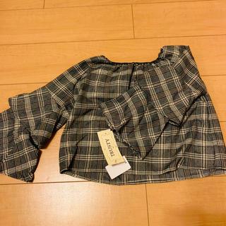 シマムラ(しまむら)のキッズ👧オフショルトップス👕👚(Tシャツ/カットソー)