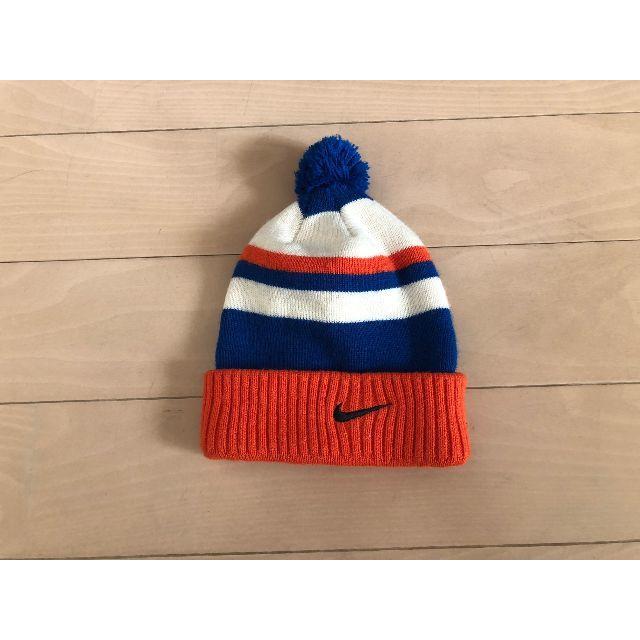 ナイキ ニット帽 50センチ キッズ/ベビー/マタニティのこども用ファッション小物(帽子)の商品写真