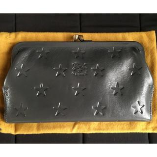 イルビゾンテ(IL BISONTE)の☆イルビゾンテ 限定 星型押し がま口財布(財布)