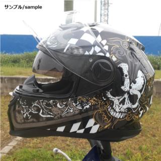 フルフェイスヘルメット ダブルシールド バイクヘルメット フルフェイス インナー(ヘルメット/シールド)