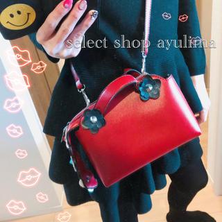 チェスティ(Chesty)のSALE♡Flower mini Bag(RED)(ショルダーバッグ)