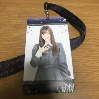 ノギザカフォーティーシックス(乃木坂46)の乃木坂46 白石麻衣 チケットホルダー(女性アイドル)
