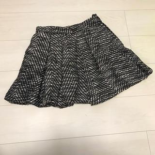 ココディール(COCO DEAL)のCOCO DEAL ツイード フリルスカート(ミニスカート)