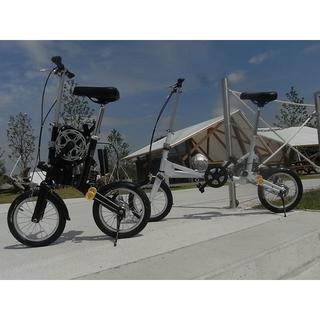 【専用キャスターバッグ付】◆14インチ折りたたみ自転車◆(自転車本体)