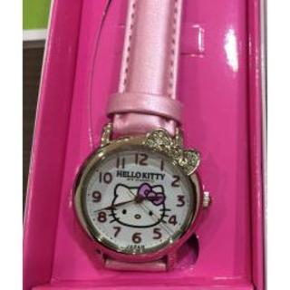 新品★未使用 ハローキティ 腕時計 ホワイト × ピンク Q&Q