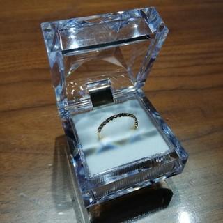 スタージュエリー(STAR JEWELRY)のK18 ハーフエタニティダイヤモンドリング アガット アーカー(リング(指輪))