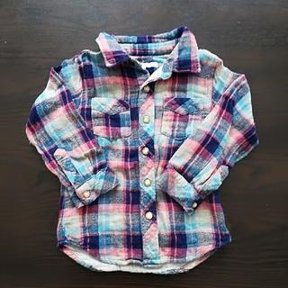 シップスキッズ(SHIPS KIDS)のSHIPS  シャツ 90(Tシャツ/カットソー)
