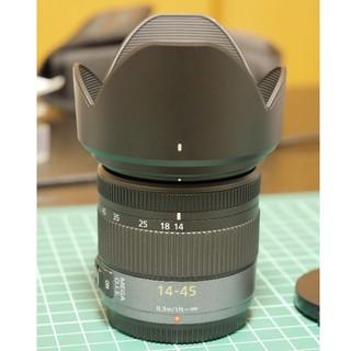パナソニック(Panasonic)の中古美品! Lumix G Vario 14-45mm (レンズ(ズーム))