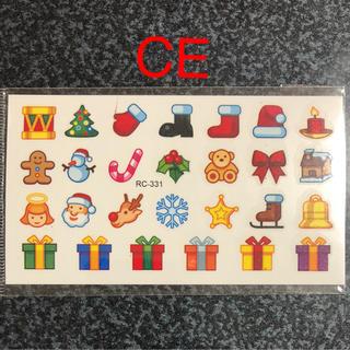 即購入OK★ミニ☆タトゥーシール☆CE☆クリスマス★27の小さい絵柄(アクセサリー)