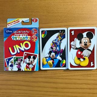 ディズニー(Disney)のはじめてのウノ ミッキーマウスクラブハウス(トランプ/UNO)
