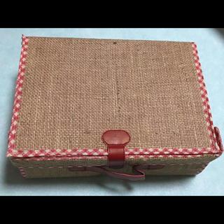 ミスタードーナツ バスケットボックス 組立式(バスケット/かご)