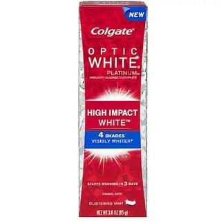 コルゲート オプティック ホワイト ハイインパクト 85g ホワイトニング(歯磨き粉)