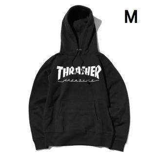 スラッシャー(THRASHER)の【M】THRASHER スラッシャー MAG パーカー ブラック(パーカー)