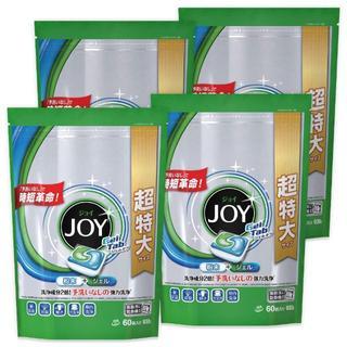 ジョイ ジェルタブ 食洗機用洗剤 60P × 4(洗剤/柔軟剤)