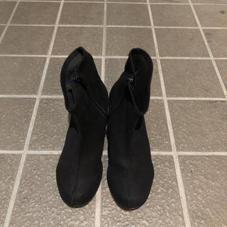 リゲッタ(Re:getA)の黒リゲッタブーツ Sサイズ(ブーツ)