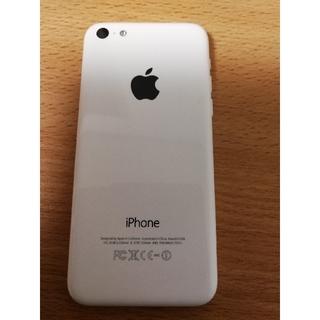 エーユー(au)の【au版】iphone5c 16GB【美品】(スマートフォン本体)