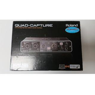 ローランド(Roland)の新品Roland QUAD CAPTURE UA-55(オーディオインターフェイス)