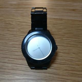 ナンバーナイン(NUMBER (N)INE)のナンバーナイン 06ミラー時計  正規品 (金属ベルト)