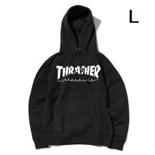 スラッシャー(THRASHER)の【L】THRASHER スラッシャー MAG パーカー ブラック(パーカー)