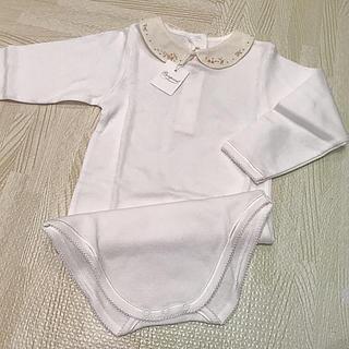 Bonpoint - ボンポワン 刺繍衿つきボディ 2ans 新品