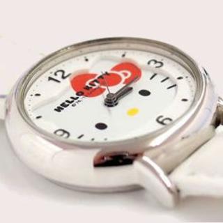 シチズン(CITIZEN)の新品★未使用 ハローキティ 腕時計 ホワイト HK15-131(腕時計)