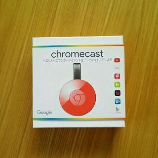 Google Chromecast クロームキャスト 赤(映像用ケーブル)