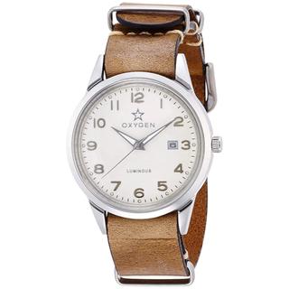 オキシゲン(OXYGEN)の【新品】OXYGEN 腕時計 FJO-40-NL-LB メンズ(腕時計(アナログ))