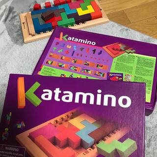 【箱有り】 ☆新品 未使用 未開封☆ カタミノ KATAMINO 木製知育玩具(知育玩具)