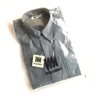 イッセイミヤケ(ISSEY MIYAKE)のデッドストック Im product イッセイミヤケ ストライプシャツ(シャツ)