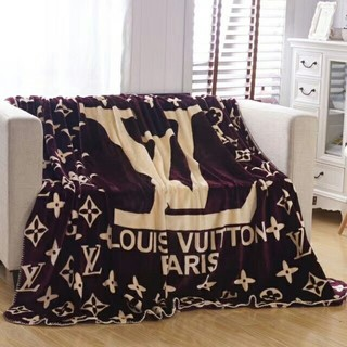 LOUIS VUITTON ブランケット厚手毛布 (毛布)