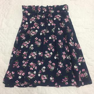 クチュールブローチ(Couture Brooch)の花柄スカート(ひざ丈スカート)