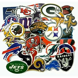 NFLアメリカンフットボールステッカー集/32枚セット☆BigOFF!799円 (アメリカンフットボール)
