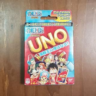 バンダイ(BANDAI)のONE PIECE UNOカードゲーム(トランプ/UNO)