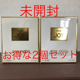 ジャンパトゥ(JEAN PATOU)の【新品】ジャンパトゥ ジョイ パルファム 30ml 2個セット(香水(女性用))