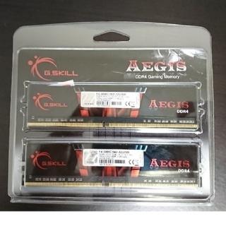 G.SKILL DDR4-3000 16GB×2枚(PCパーツ)