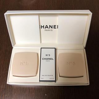 シャネル(CHANEL)のCHANEL no.7 香水 石鹸セット (香水(女性用))
