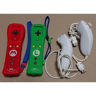 ウィー(Wii)のWii リモコンプラスマリオとルイージ(家庭用ゲーム本体)