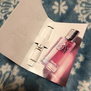 クリスチャンディオール(Christian Dior)の新品☆ディオール joy 香水サンプル(香水(女性用))