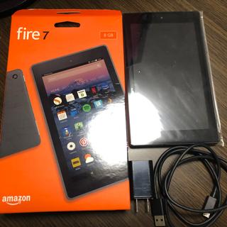 アンドロイド(ANDROID)のAmazon fire 7 最新モデル第7世代 8GB 使用時間100時間(タブレット)