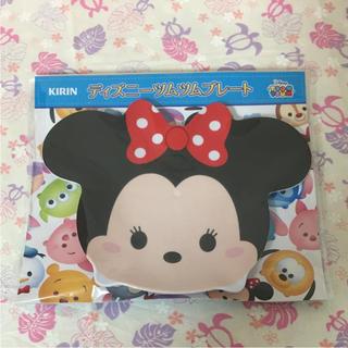 ディズニー(Disney)のディズニー ツムツムプレート ミニーちゃん メラミンプレート(プレート/茶碗)