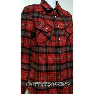 ゴーサンゴーイチプーラファム(5351 POUR LES FEMMES)の5351POURLESFEMMES  チェックシャツ(シャツ/ブラウス(長袖/七分))