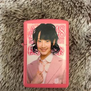 エスケーイーフォーティーエイト(SKE48)の元SKE48 松井玲奈さん ジッポ(アイドルグッズ)